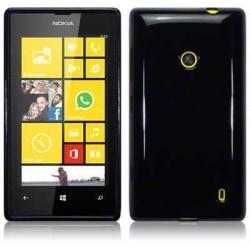FlexiSkal till Nokia Lumia 520 (Svart)