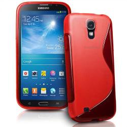 FlexiSkal till Samsung Galaxy Mega i9200 (Röd)