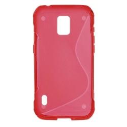 Flexiskal till Samsung Galaxy S5 Active - Röd