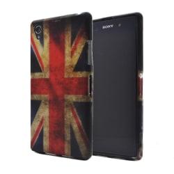 FlexiSkal till Sony Xperia Z1 (Britiska Flaggan)