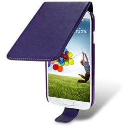 Flip Mobilväska - Fodral till Samsung Galaxy S4 i9500 (Lila)