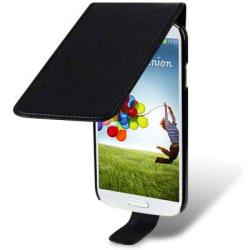 Flip Mobilväska - Fodral till Samsung Galaxy S4 i9500 (Svart)
