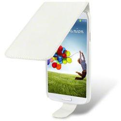 Flip Mobilväska - Fodral till Samsung Galaxy S4 i9500 (Vit)