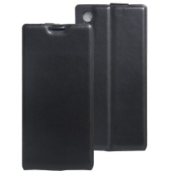 Flipfodral med kortplats till Sony Xperia XZ / XZs - Svart