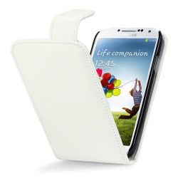 Flipfodral till Samsung Galaxy S4 i9500 - Vit