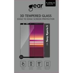 GEAR Härdat Glas 3D Full Cover Black Sony Xperia 5