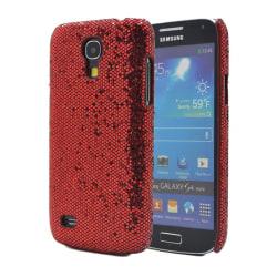 Glitter Skal till Samsung Galaxy S4 mini - Röd