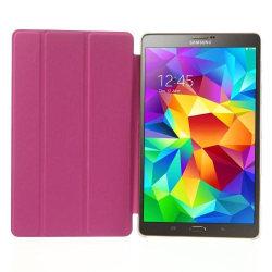 Grain fodral till Samsung Galaxy Tab S 8,4 (Magenta)