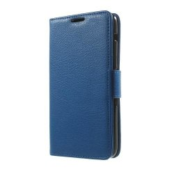 Litchi Plånboksfodral till Sony Xperia E4 - Blå
