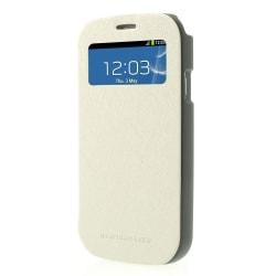 Mercury Bumper View Plånboksfodral till Samsung Galaxy S3 (Vit)