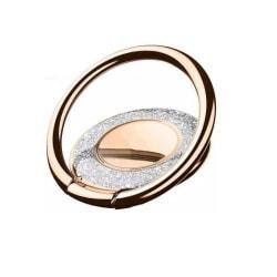 Metal Glitter Ringhållare till Mobiltelefon - Gold