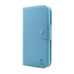 MLT Plånboksfodral till Samsung Galaxy Mega i9200 (Ljus Blå)