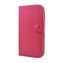 MLT Plånboksfodral till Samsung Galaxy Mega i9200 (Magenta)
