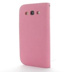 MLT Plånboksfodral till Samsung Galaxy S3 i9300 (Rosa)
