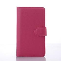 Plånboksfodral till Sony Xperia E4g - Magenta