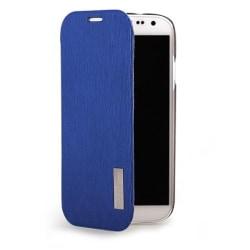 Rock Elegant Flip väska till Samsung Galaxy S4 i9500 (Blå)