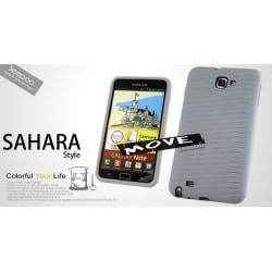 Seepoo Sahara Silikonskal till Samsung Galaxy Note + Skärmskydd