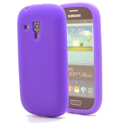 Silikonskal till Samsung Galaxy S3 Mini i8190 (Lila)
