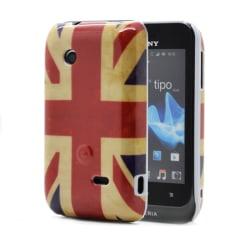 Skal till Sony Xperia Tipo ST21i - Brittiska Flaggan
