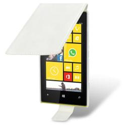 Slim Flip Mobilväska till Nokia Lumia 520 (Vit)