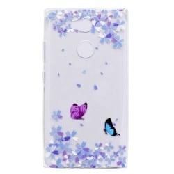 TPU Mobilskal till Sony Xperia L2 - Butterflies