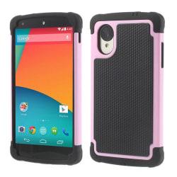 Triple Combo Skal till LG Nexus 5 - Rosa