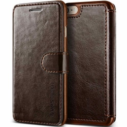 Verus Dandy Layered Plånboksfodral till iPhone 8 - MörkBrun