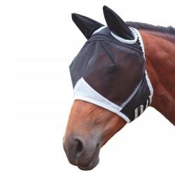 Avtagbar häst i full ansikte mot myggmak white S