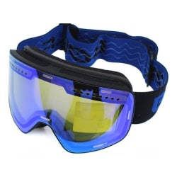Anti-fog uv400 snowboardglasögon män kvinnor skidglasögon Blue Blue1 Lens