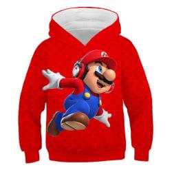 3D tecknad tryck mjuk hoodie tröja för pojke flicka set-17 Q 160