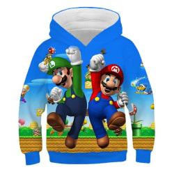 3D tecknad tryck mjuk hoodie tröja för pojke flicka set-21 U 150