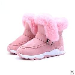 Nya vinter plysch varma bästsäljande stövlar skor Pink 31