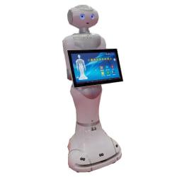 Lidar navigationsmottagning robot restaurang skola museum