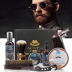 Skäggkit för herr stylingverktyg - skägg haklapp förkläden