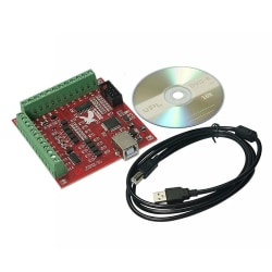 100 kHz usb cnc stepper motion controller board