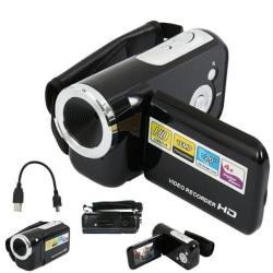 HD-videokamera videokamera 4x digital zoom handhållen digital A