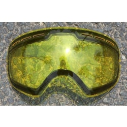 Anti-fog uv400 stora sfäriska skidglasögon Lens Yellow
