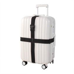 Dishy kooker resväska förpackningsbälte med bagagebälte black