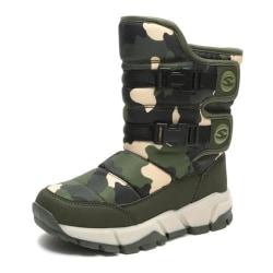 -vattentäta skor, snöstövlar green 8.5
