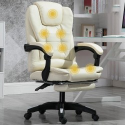Datorspelstol, liggmassage, lyft, vridbar, fåtölj 7-p With footrest-200006152