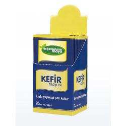Kefir jäst, lätt för kefir, probiotisk jäst vuxen och barn, Yellow