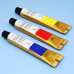 Akrylfärger 12/18/24 färger professionell borstsats 12 ml B