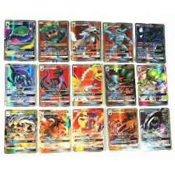 Mega trading kort spel bästsäljande leksak 70Pcs GX