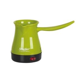 Bärbar elektrisk gryta kokt mjölk kaffekanna för sonifer UK