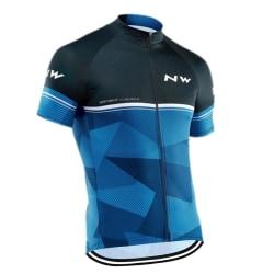 Cykel kortärmad skjorta CubeBlue XS