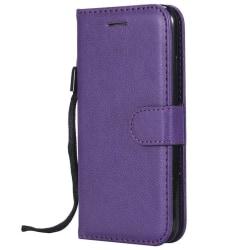 Enfärgad, fodral med kortspår för samsung, s7 edge, s8 Purple For S7 Edge