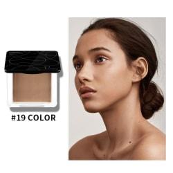 Naturligt sminkpulver för ansiktsoljekontroll, mineral kompakt 19