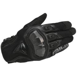 Lädermotorcykel, racinghandskar 391 Black M