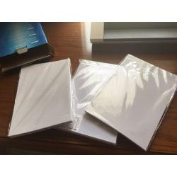 Pvc id-kort gör material bläckstråle pvc tomma ark, kort