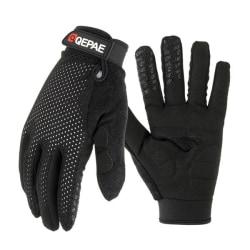Skärm-touch, full finger, vinterhandskar för skidåkning / XLO-QZ1B